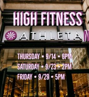 Athleta Flatiron Series - New York City
