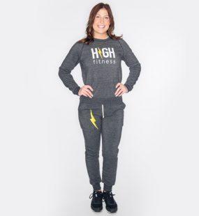 HIGH Fitness Dark Gray Sweatshirt