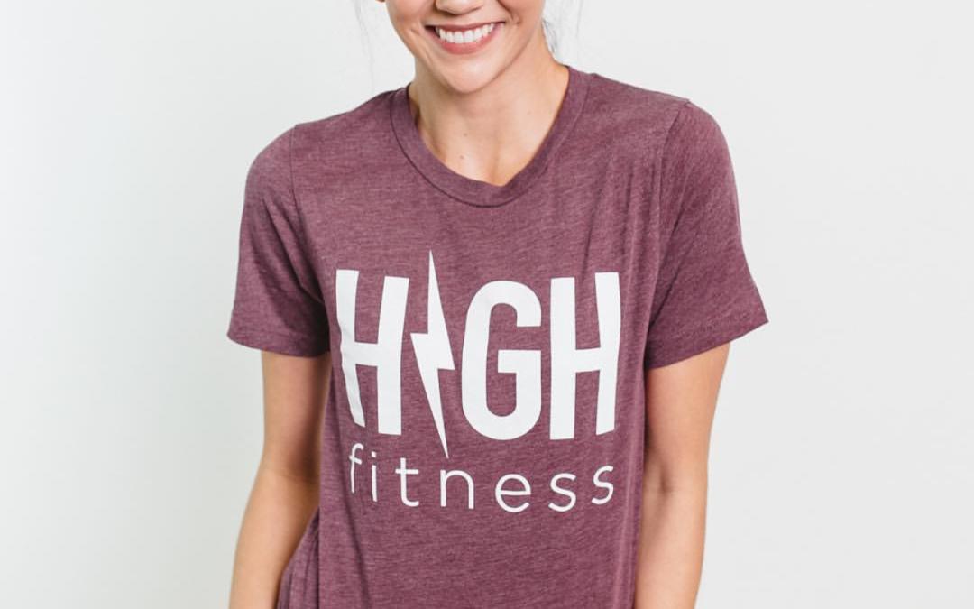 Restocked| HIGH Fitness Tees