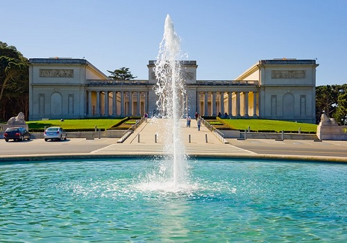 Legion of Honor and Fountain
