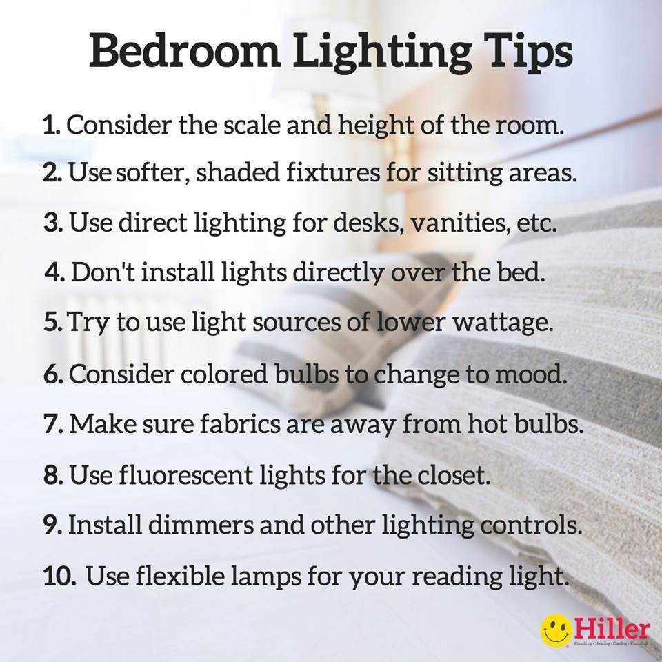 Bedroom Interior Lighting Design Tips
