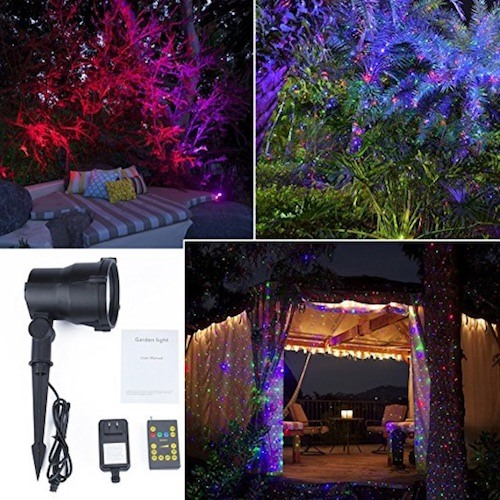 Star Projector Laser Christmas Lights Holiday Laser Lights with remote control