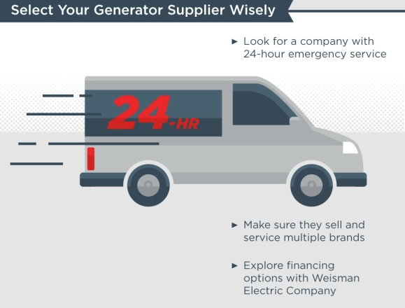 Select your generator supplier wisely - 24 hours