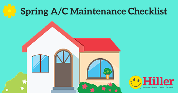 spring ac maintenance checklist