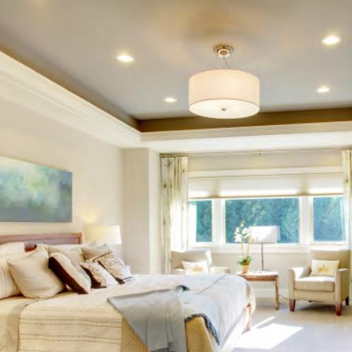 interior lighting design for bedroom