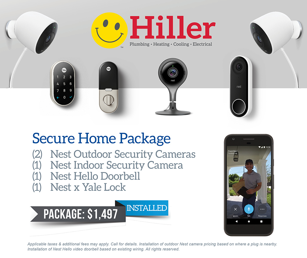 1497 Secure Home Package Hiller Internet Wiring Our True Technicians Will Install Setup And Help Guide You Through The Smart World