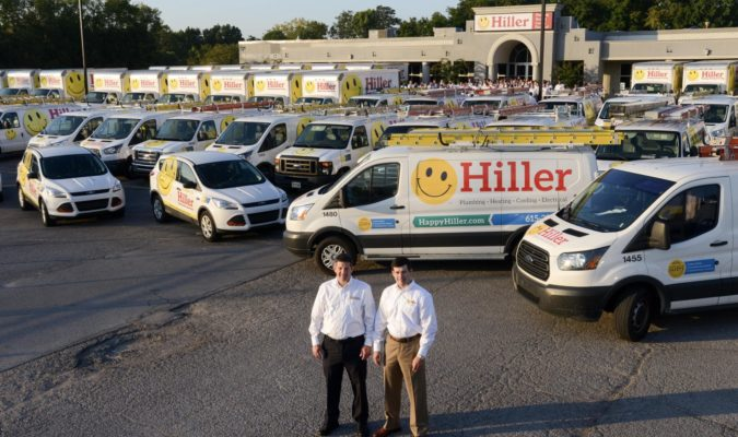 Hiller Plumbing Heating Cooling And Electrical 2016 Corporate Office Jimmy And Jimmy Jr Group