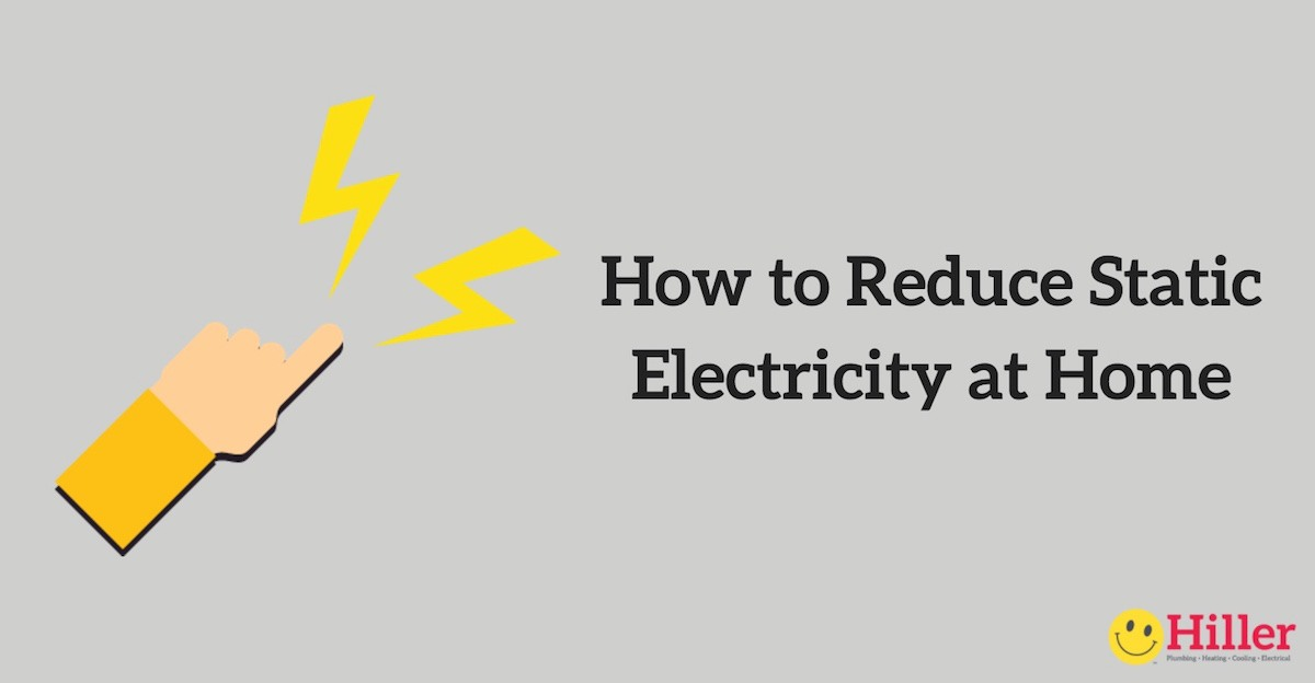 How To Reduce Static Electricity At Home