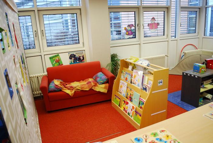 cozy corner in preschools