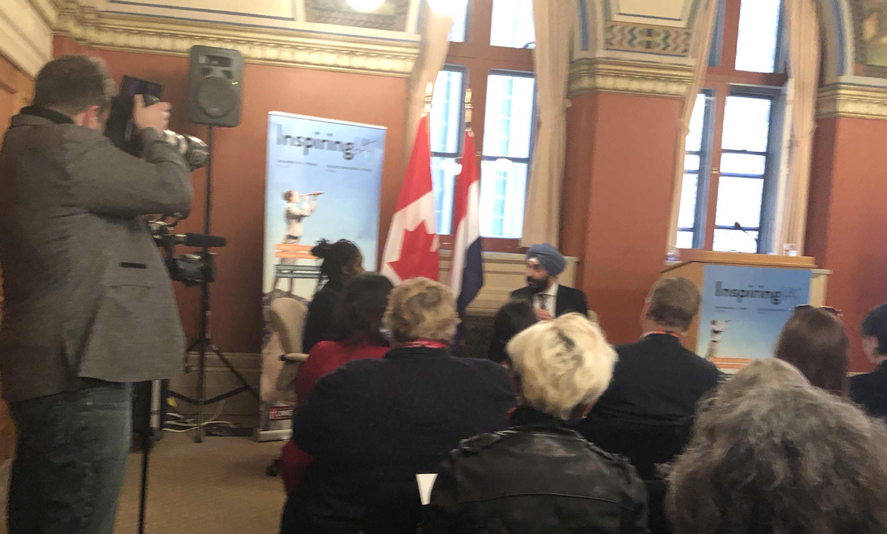 The Honourable Navdeep Bains at inspiring fifty