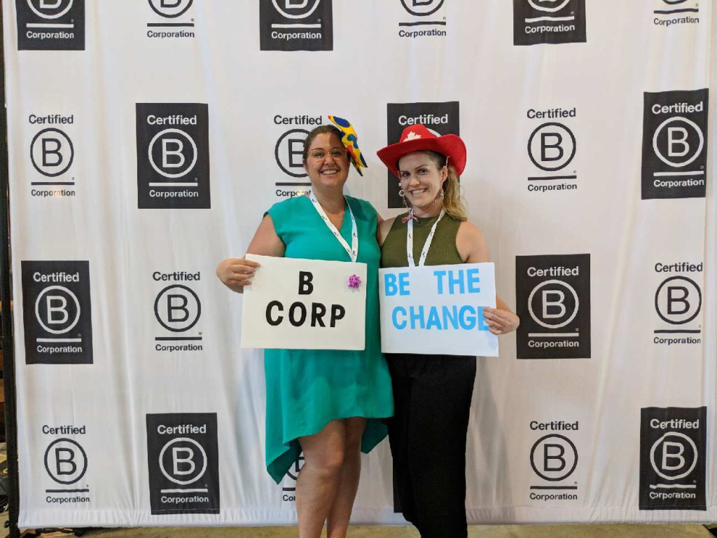 HiMama Team at the B Corp Conference