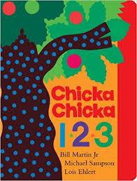 chicka chicka 123 by bill martin jr, michael sampson and lois ehlert