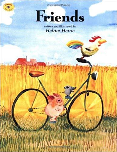 friends by helme heine