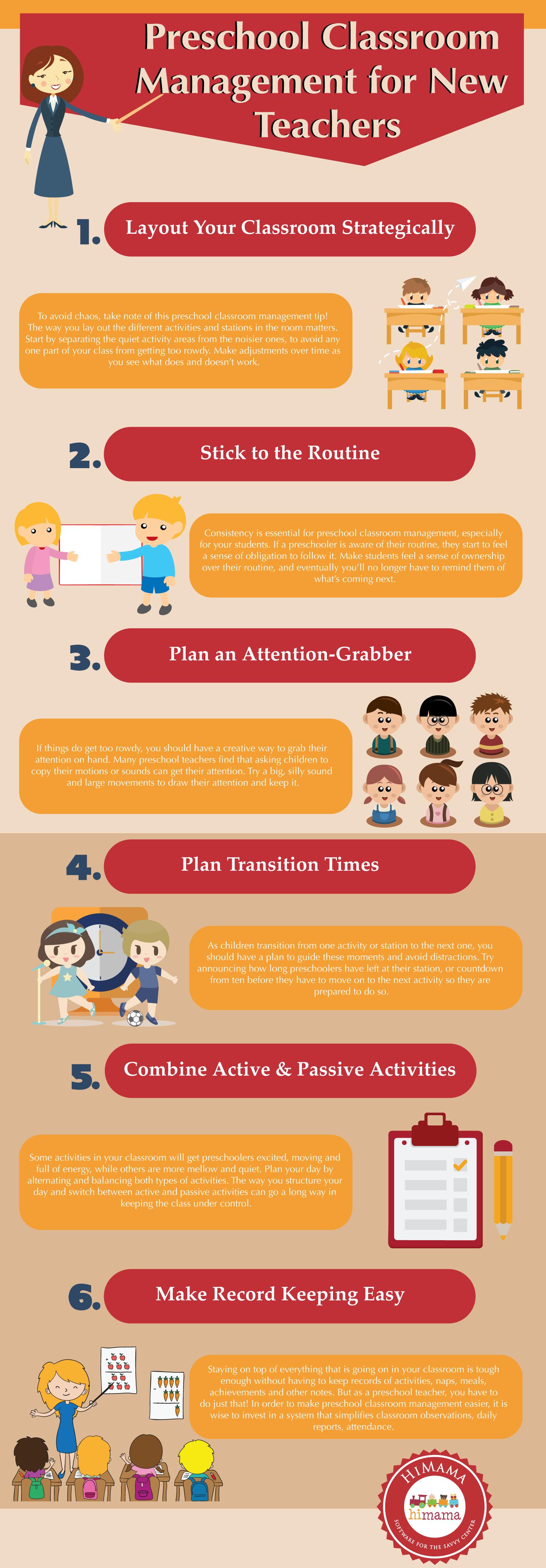 Preschool Classroom Management For New Teachers