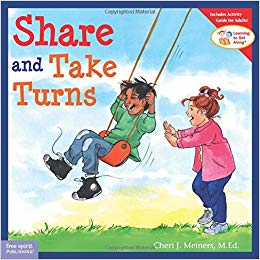 share and take turns by sherri meiners