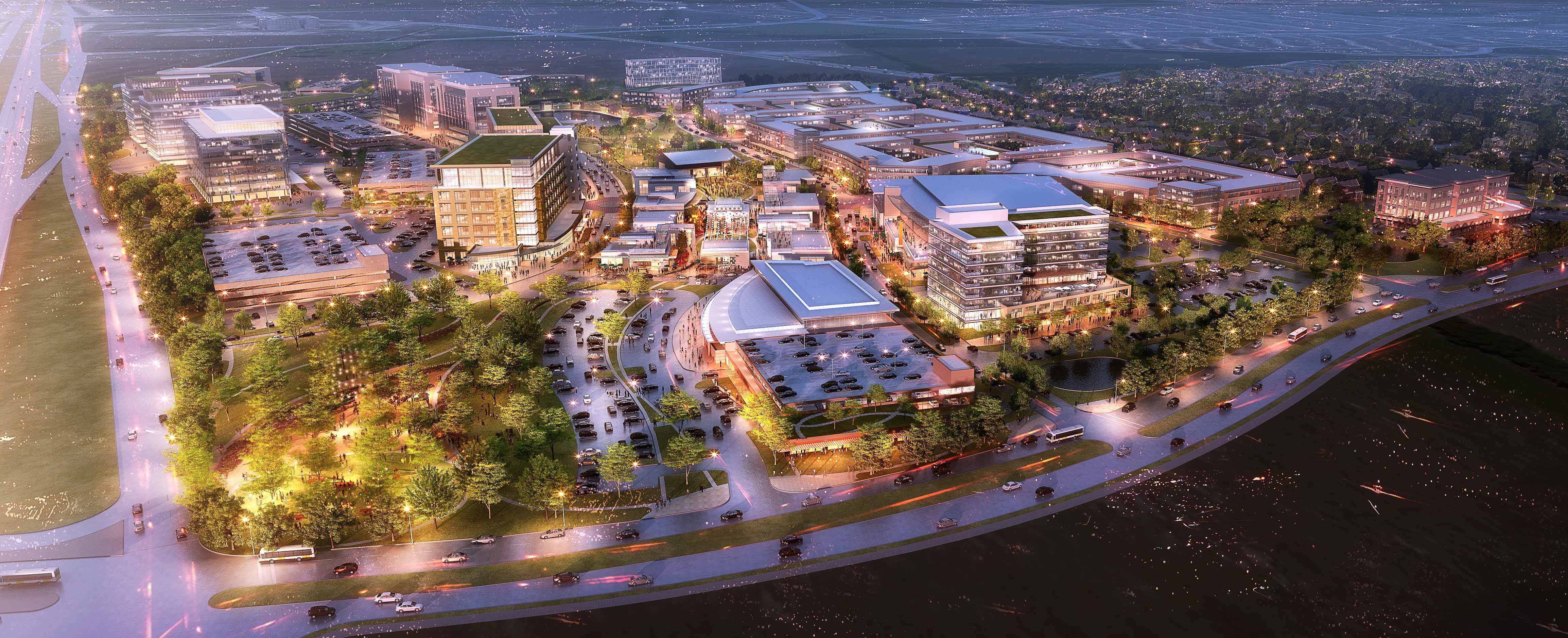 Hines Announces New Mixed Use Development In Allen Tx Hines