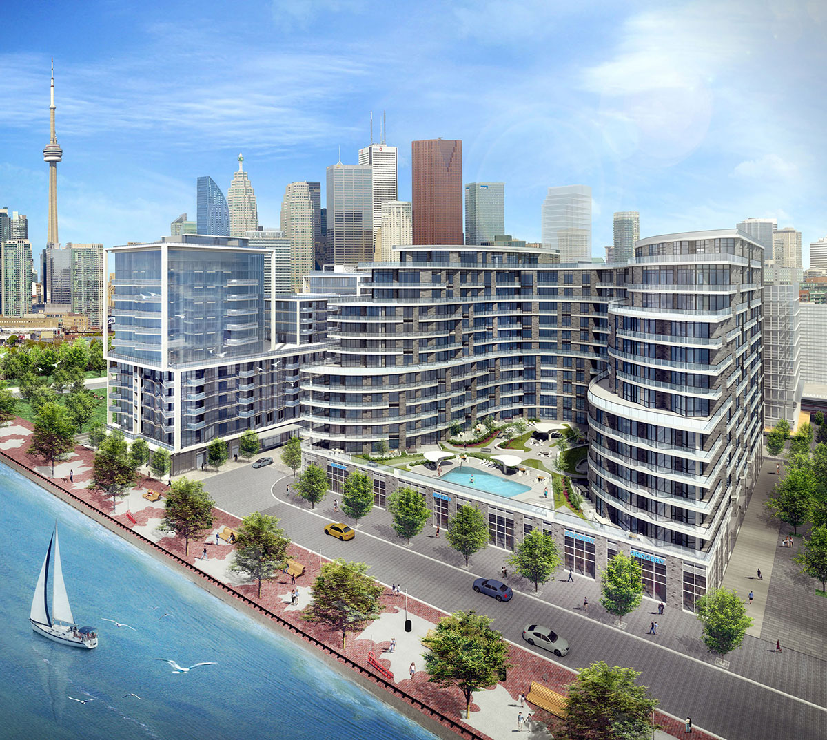 Aquavista at Bayside Toronto™