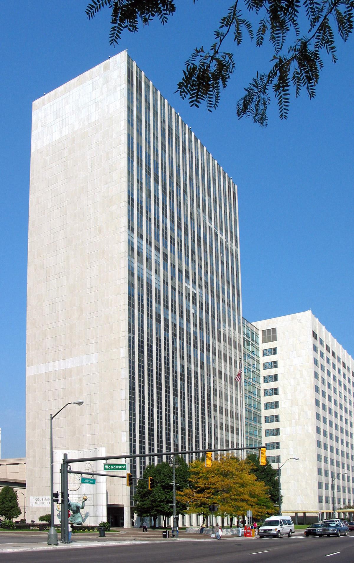 Coleman A. Young Municipal Building