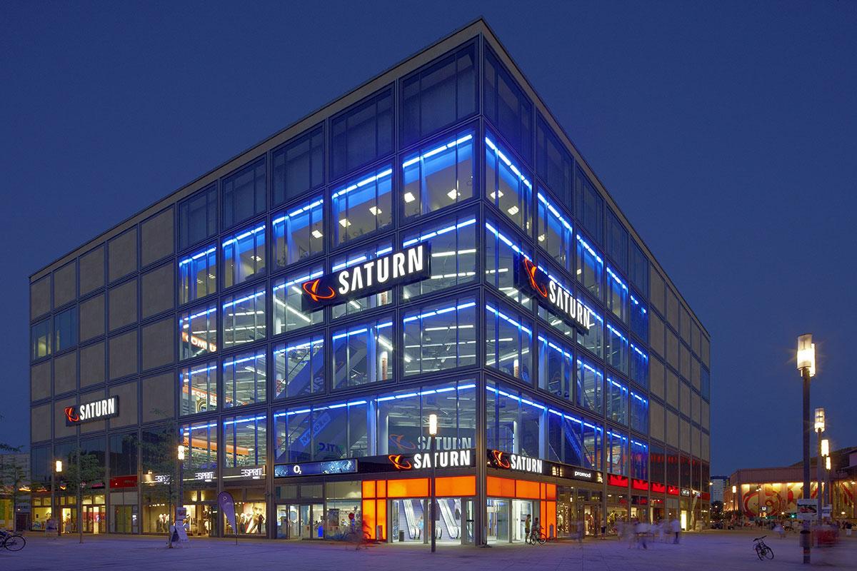 Die Mitte-Shopping am Alexanderplatz
