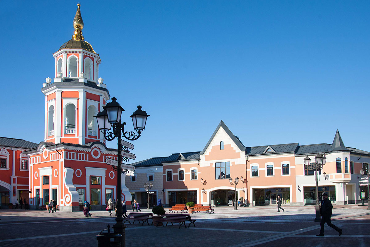 Outlet Village Belaya Dacha - Moscow - Properties – Hines