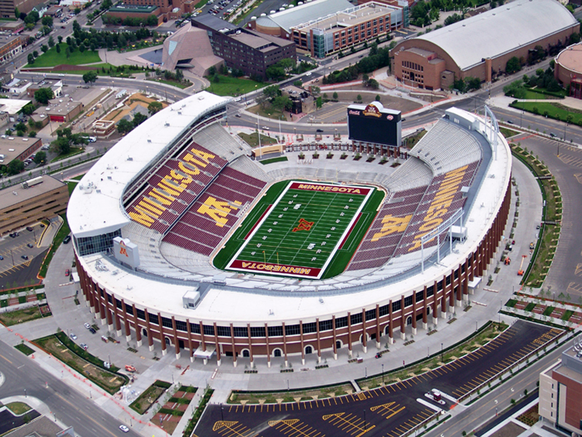 University Of Minnesota Tcf Bank Stadium Minneapolis