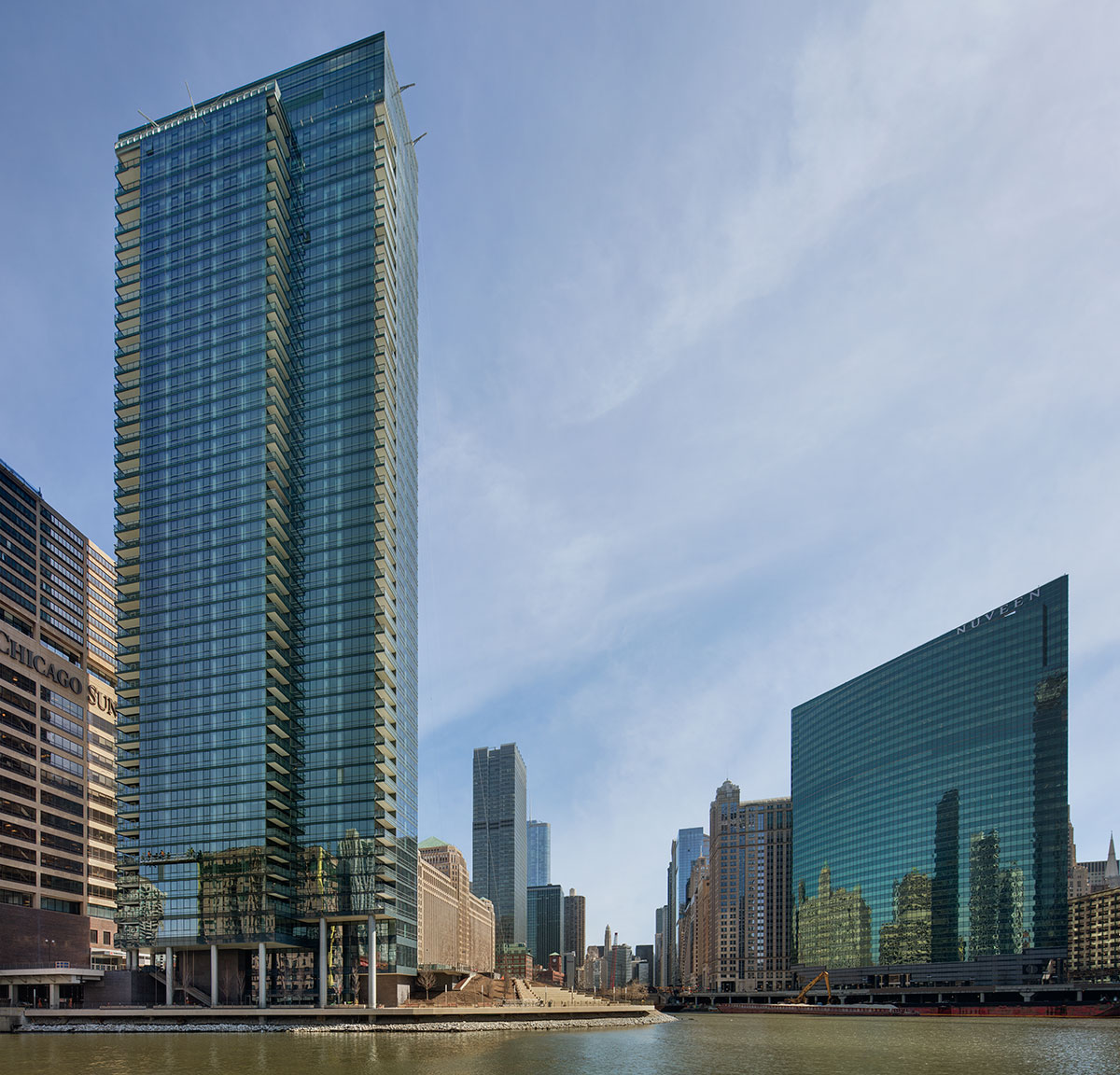Wolf Point West Chicago Properties Hines