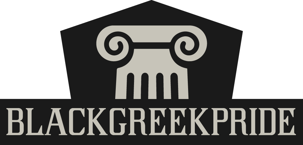 Blackgreekpride logo