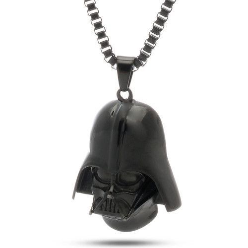 Nkx11351 stainless steel darth vader necklace