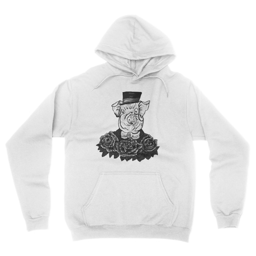 Gentlemanpiggray whitehoodie1