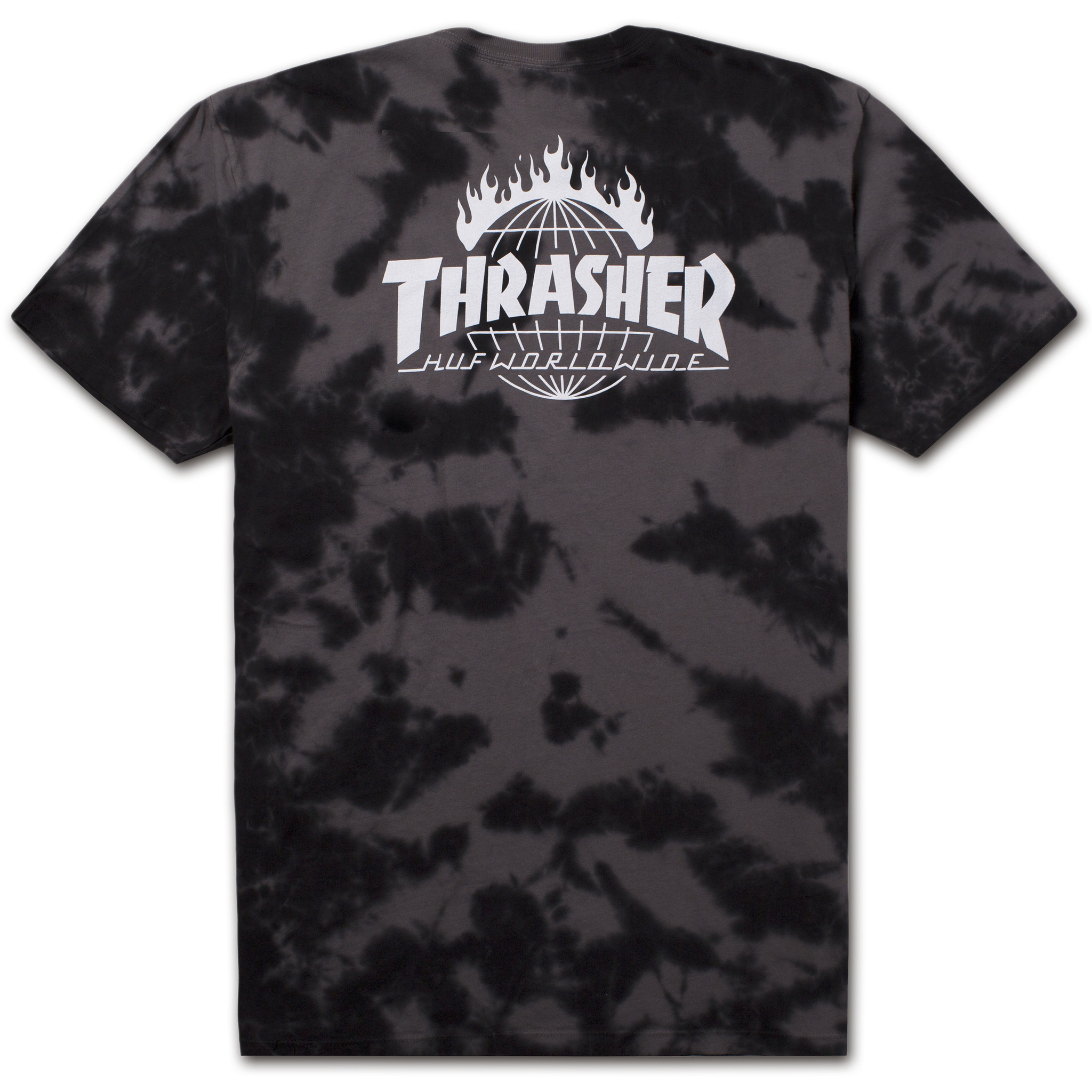 Thrasher tds crystal wash tee black ts65m04 black 02