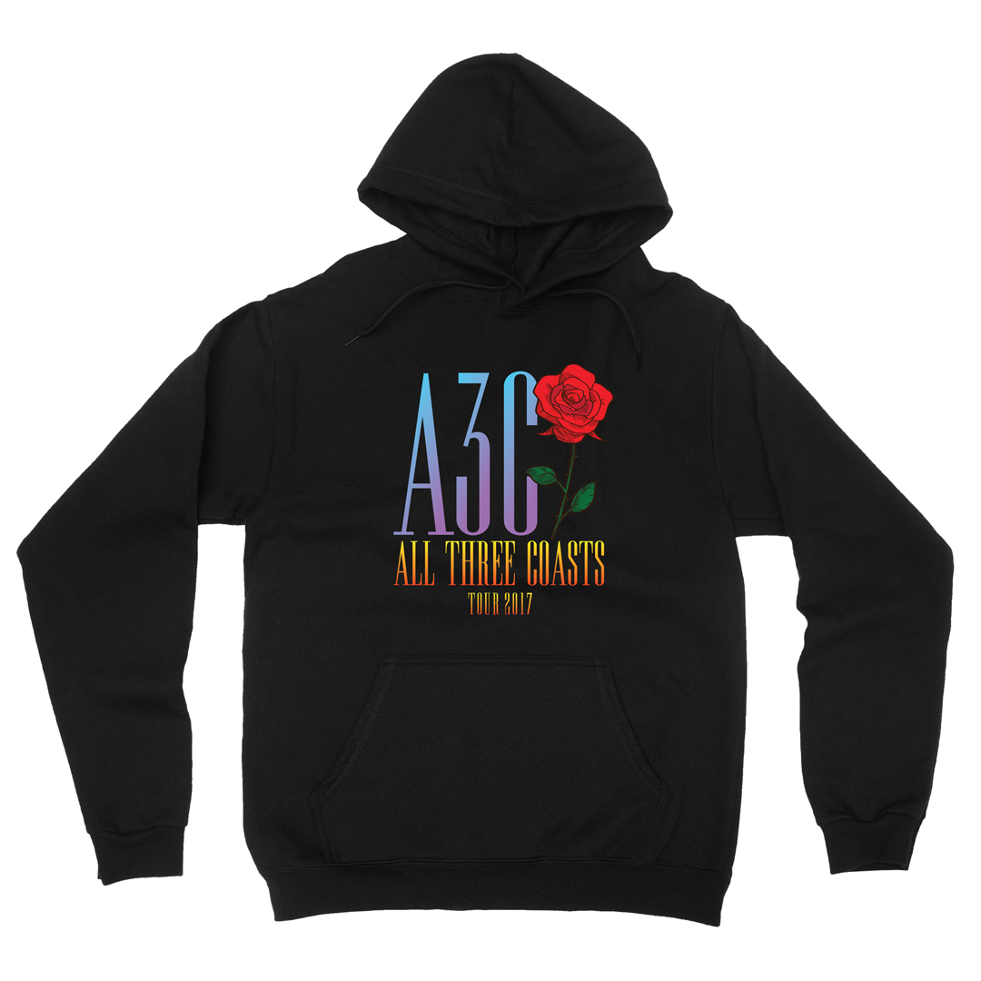 Rose blackhoodie