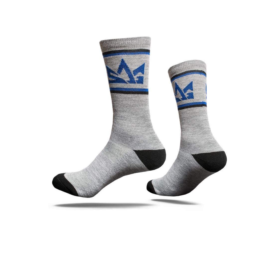 Sog socks grey flat