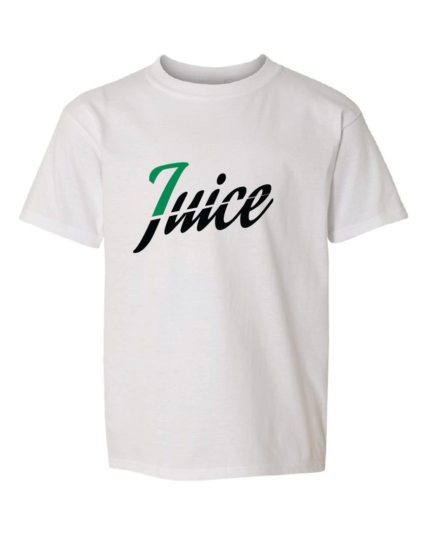 Kids juice tee white
