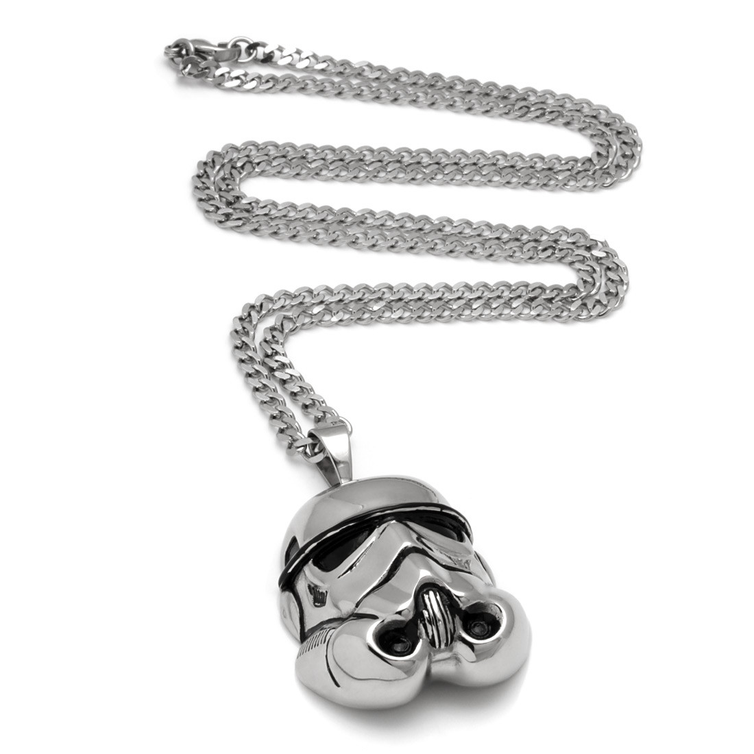 Nkx11347 2 stainless steel stormtrooper necklace