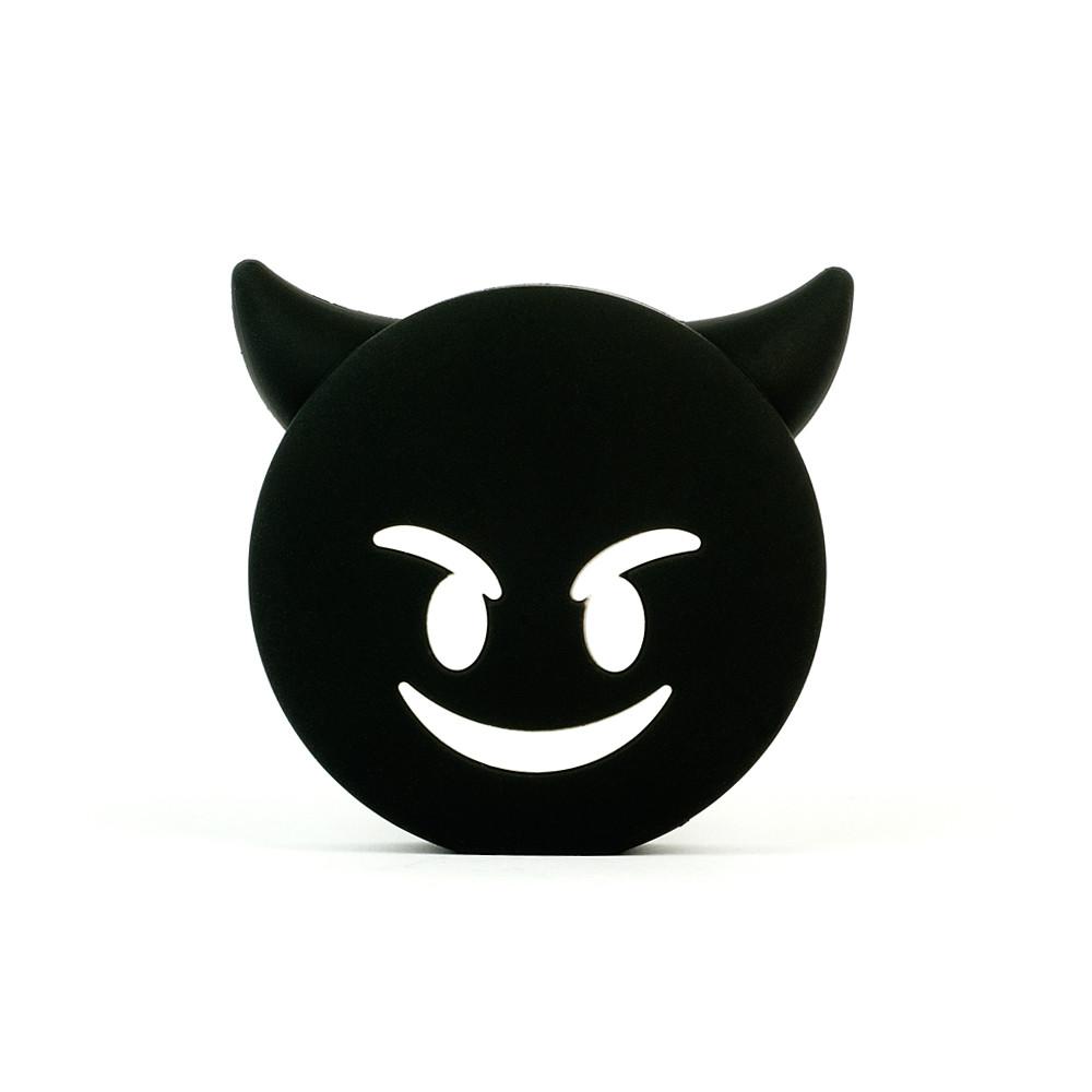 Black devil emoji purple creep street wattzup power bank usb charger ...