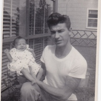 Charlane with her father