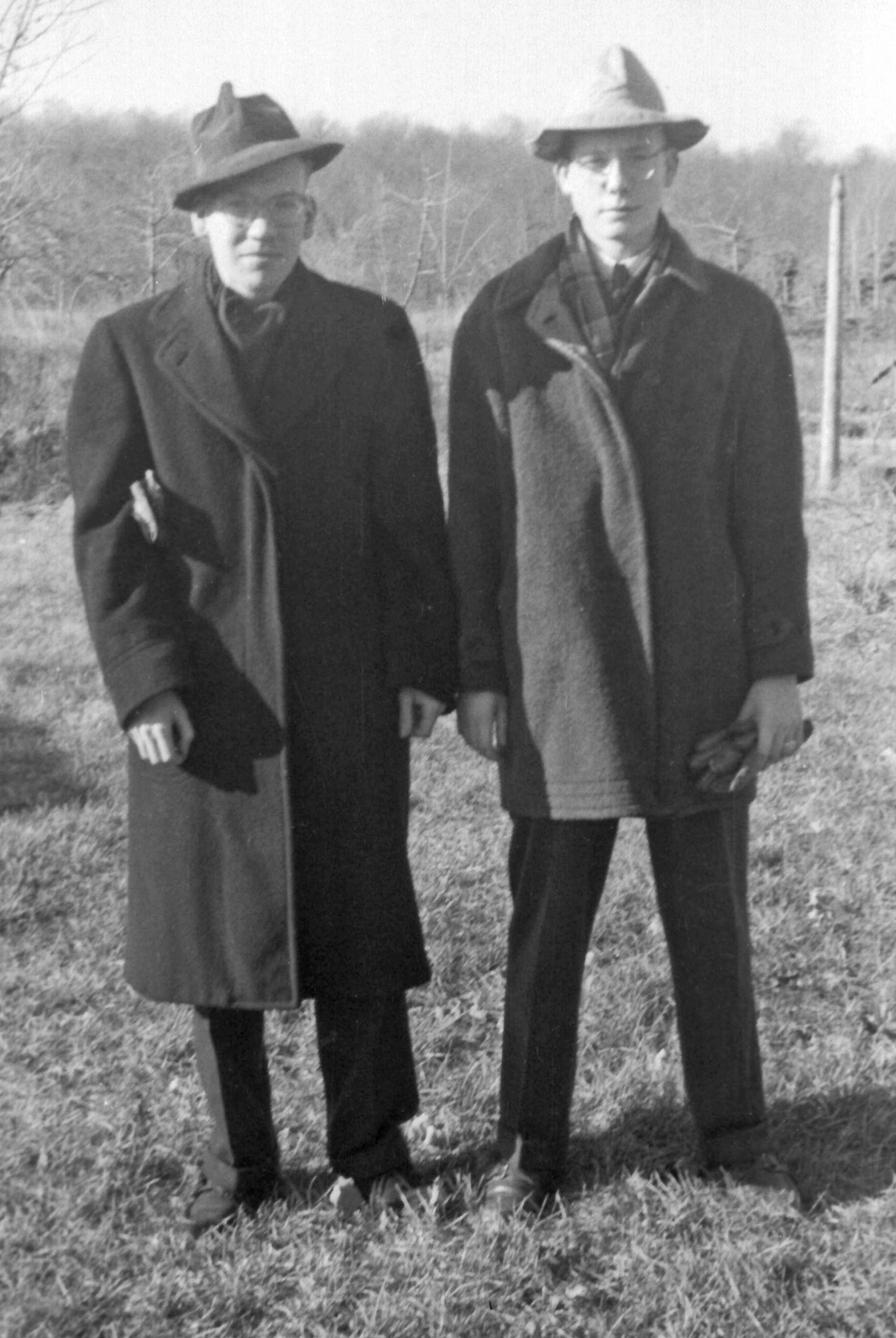 1949 charlie wooster and arnold davis