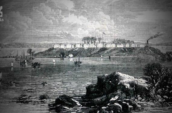 Civil war hart island