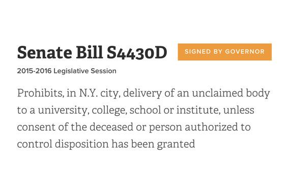 Legislation 2016