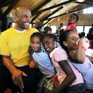 "Darryl ""DMC"" McDaniels Founds Camp For Foster Kids"