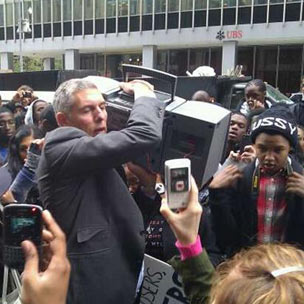"Lyor Cohen Shows Up At Lupe Fiasco's ""Fiasco Friday"""