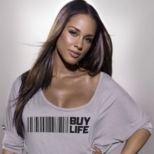 "Alicia Keys Tells Public To ""Buy Life"" With Swizz Beatz, Usher Campaign"