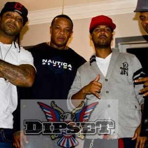 The Diplomats Speak About Dr. Dre Sitting In On Studio Session