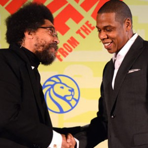 Jay-Z & Dr. Cornel West - New York Public Library Appearance
