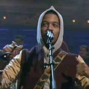 Kid Cudi f. The Roots, Cage & St. Vincent - Maniac (Jimmy Fallon Performance)