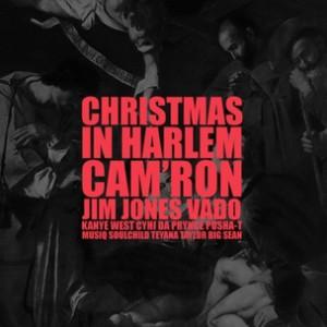 "Kanye West f. Cam'ron, Jim Jones, CyHi Da Prynce, Pusha T, Big Sean, Musiq Soulchild & Teyana Taylor - ""Christmas In Harlem"""