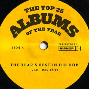 HipHopDX's Top 25 Albums of 2010