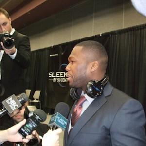 50 Cent Unveils New Wireless Headphones