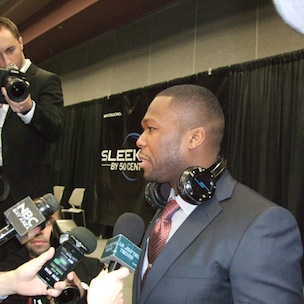 50 Cent Unveils New Wireless Headphones