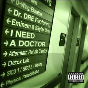 "Dr. Dre & Eminem's ""I Need A Doctor"" Official Cover Art Revealed"